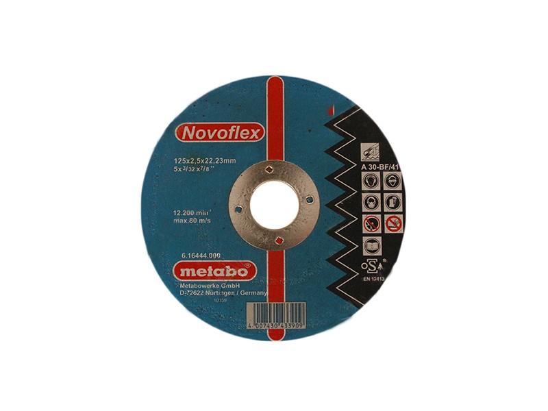 Отрезной круг по металлу Metabo 125х2,5х22  SP-Novoflex