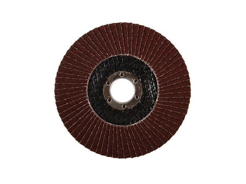Лепестковый круг торцевой Луга 125х22  Р60