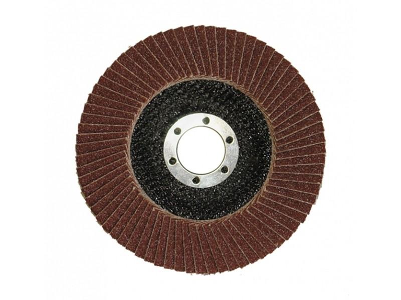 Лепестковый круг торцевой Луга 150х22  Р100