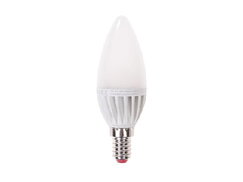 Лампа LED 3Вт E27 4500K белый свет Экономка Свеча