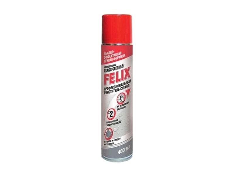 Аэрозоль очиститель обивки 400 мл пенный Felix