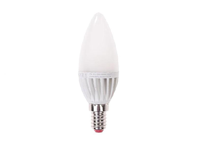 Лампа LED 7Вт E14 4500K белый свет Экономка Свеча