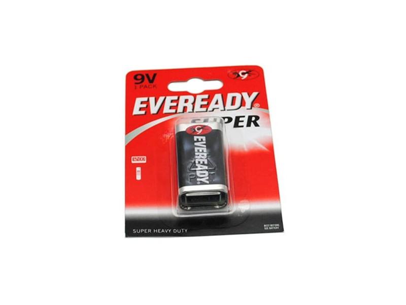 Батарейка крона SHD 9V, 1 шт Eveready 6F22