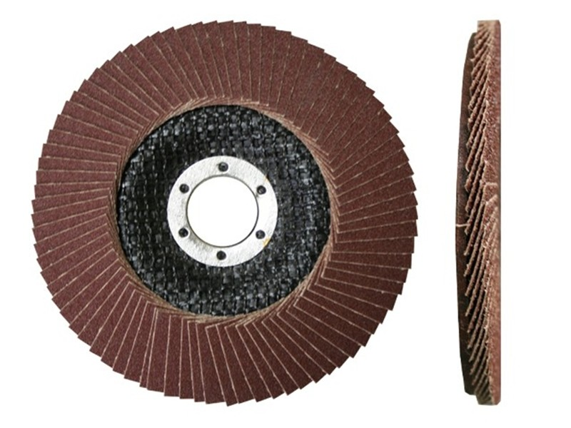Лепестковый круг торцевой Луга 115х22  Р36