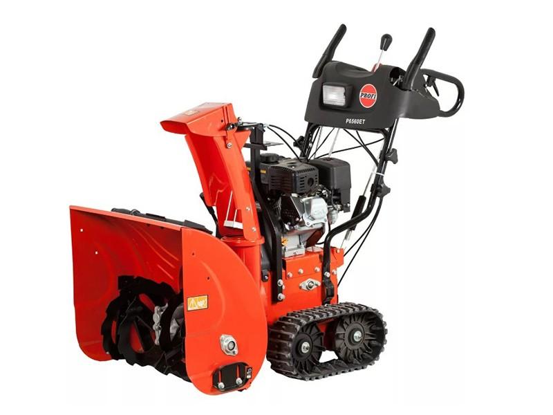 Снегоуборщик гусеничный PROFI P6560ET
