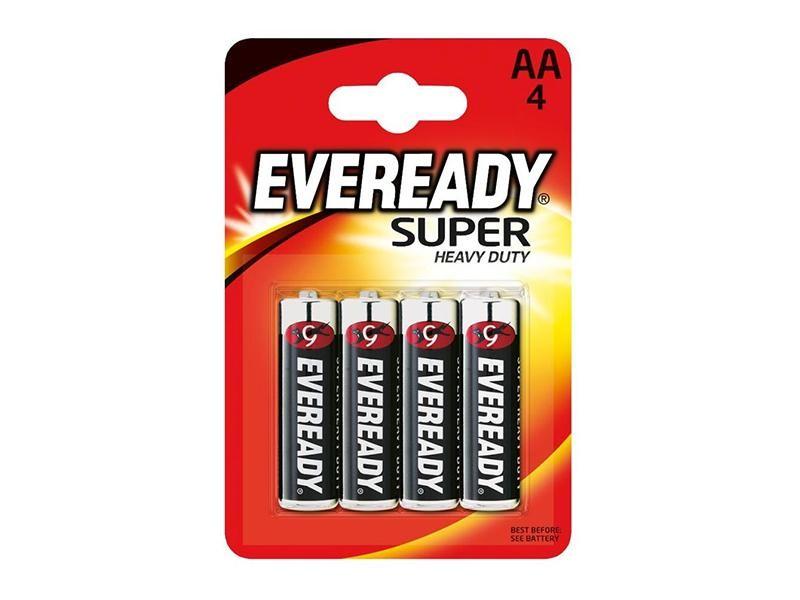 Батарейка SHD АА 4 шт Eveready LR6