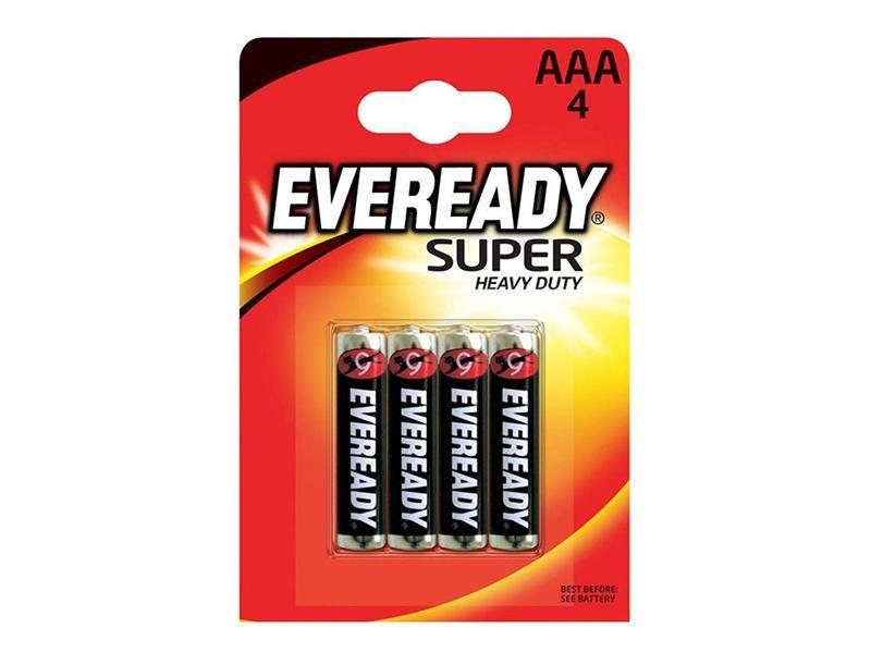 Батарейка SHD ААА 4 шт Eveready LR03